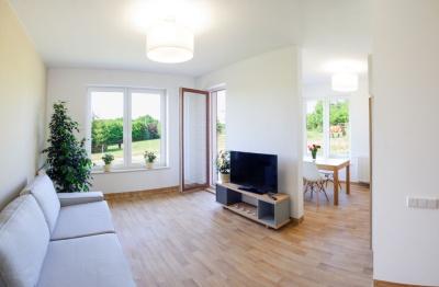 Ansicht eines Wohnzimmer im Betreuten Wohnen in Berlin und Brandenburg