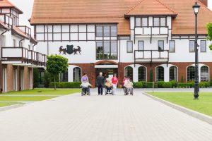 Eingangsbereich des Altenheim in Polen, wo wir bereits viele unserer Kunden aus dem Bereich Berlin und Umgebung untergebracht haben.